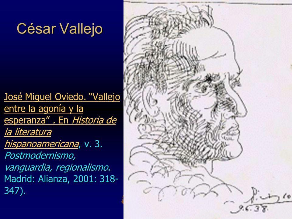 César Vallejo En Historia de la literatura hispanoamericanaEn Historia de la literatura hispanoamericana, v.