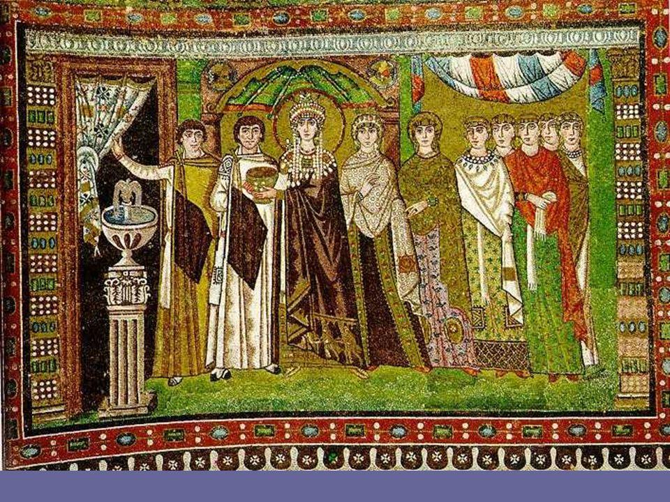 Al contemplar un mosaico bizantino no se perciben colores reales, o siquiera posibles, sino colores que, a través de su armonía y contraposición, crean un sugestivo mundo capaz de conmovernos y alejarnos de nuestro entorno inmediato.