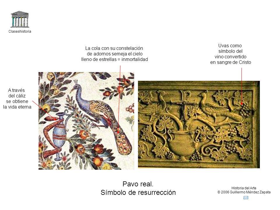 Claseshistoria Historia del Arte © 2006 Guillermo Méndez Zapata Pavo real.