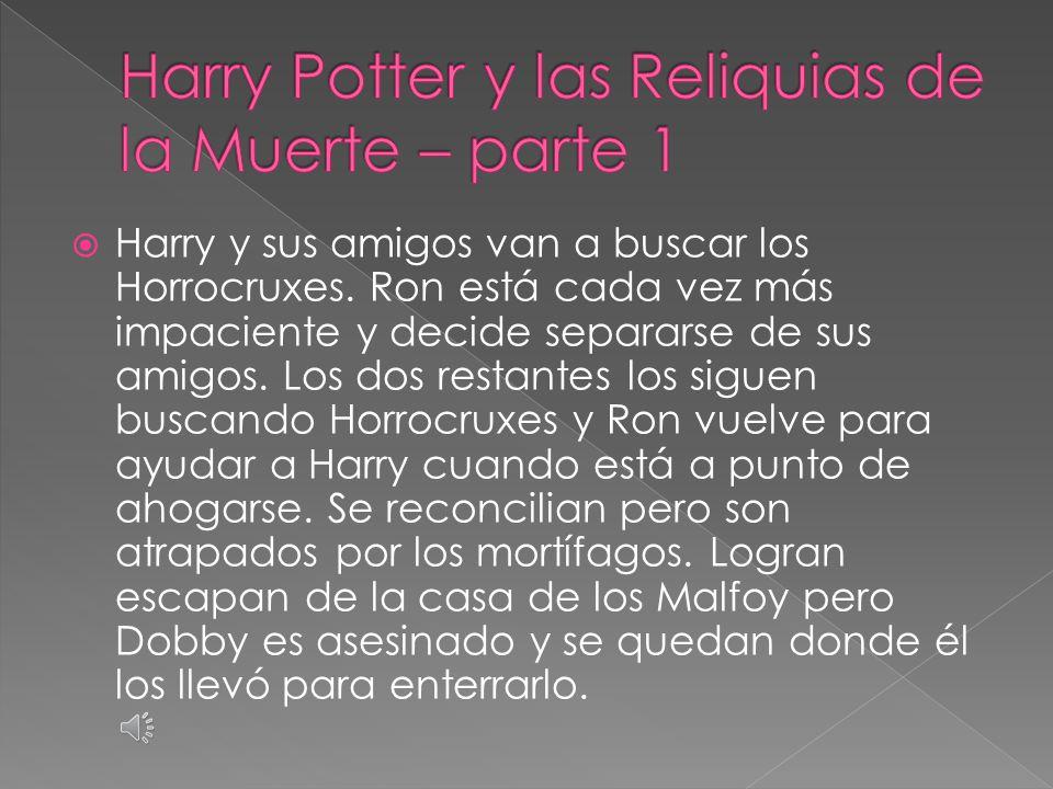  Harry ve recuerdos acerca de Voldemort con Dumbledore y se entera qué fue lo que lo mantuvo vivo cuando estaba al borde de la muerte.
