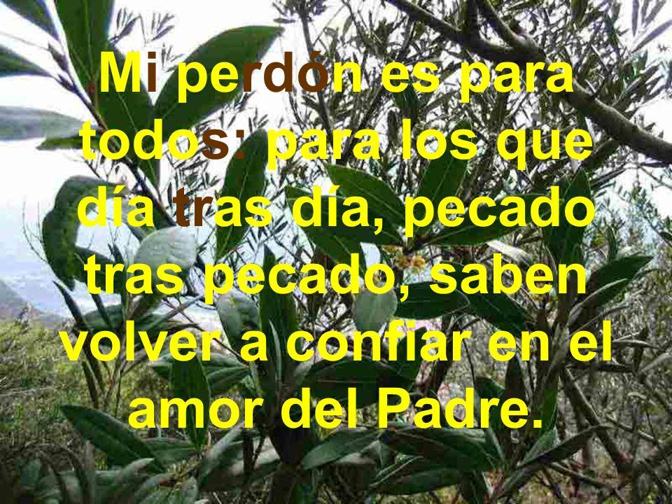 Dejo a mi Madre Mi madre es para todo el que quiera amar y dejarse amar a mi estilo: sin posesión, exclusividad, dominio, interés, búsqueda de afecto,...