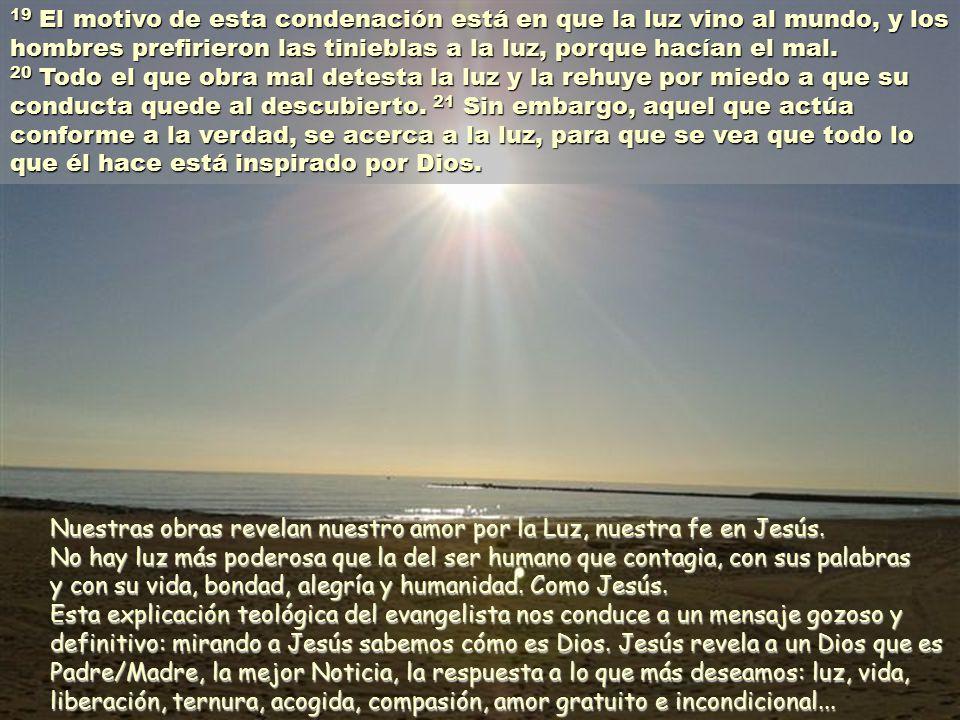 18 El que cree en él no será condenado; por el contrario, el que no cree en él, ya está condenado, por no haber creído en el Hijo único de Dios.