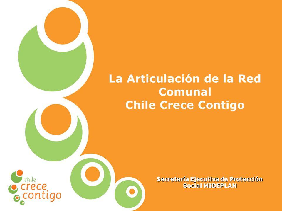 Protección Integral a la Infancia La Articulación de la Red Comunal Chile Crece Contigo Secretaría Ejecutiva de Protección Social MIDEPLAN