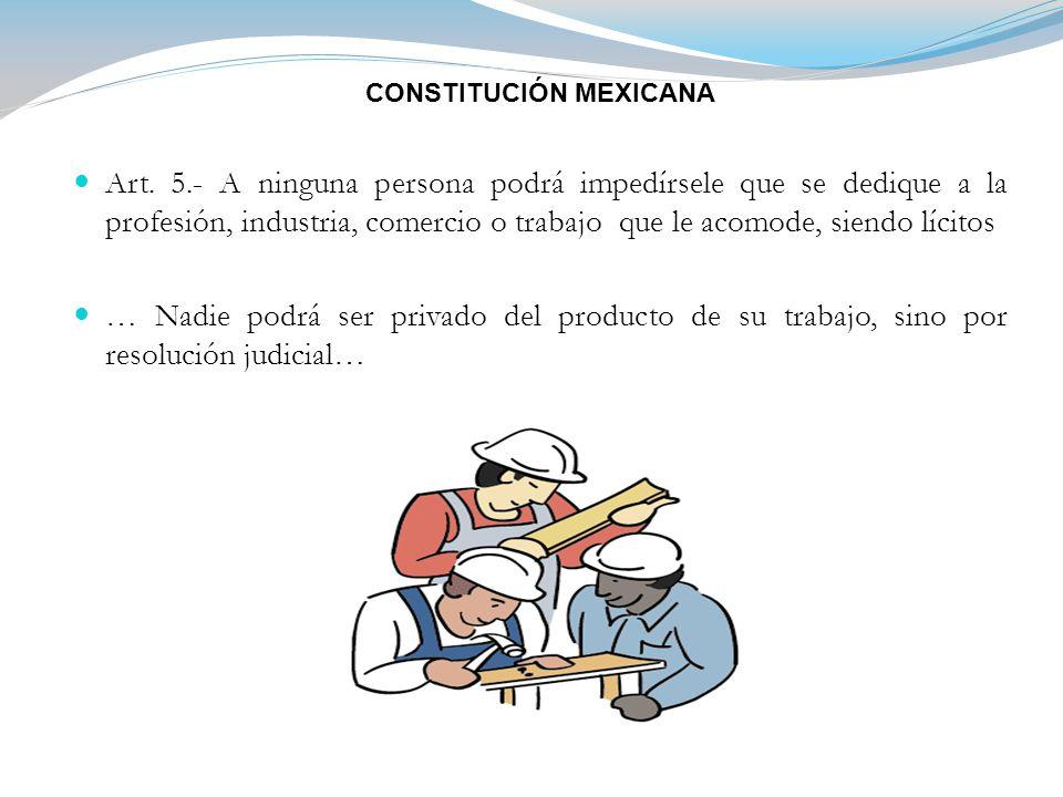 CONSTITUCIÓN MEXICANA Art.
