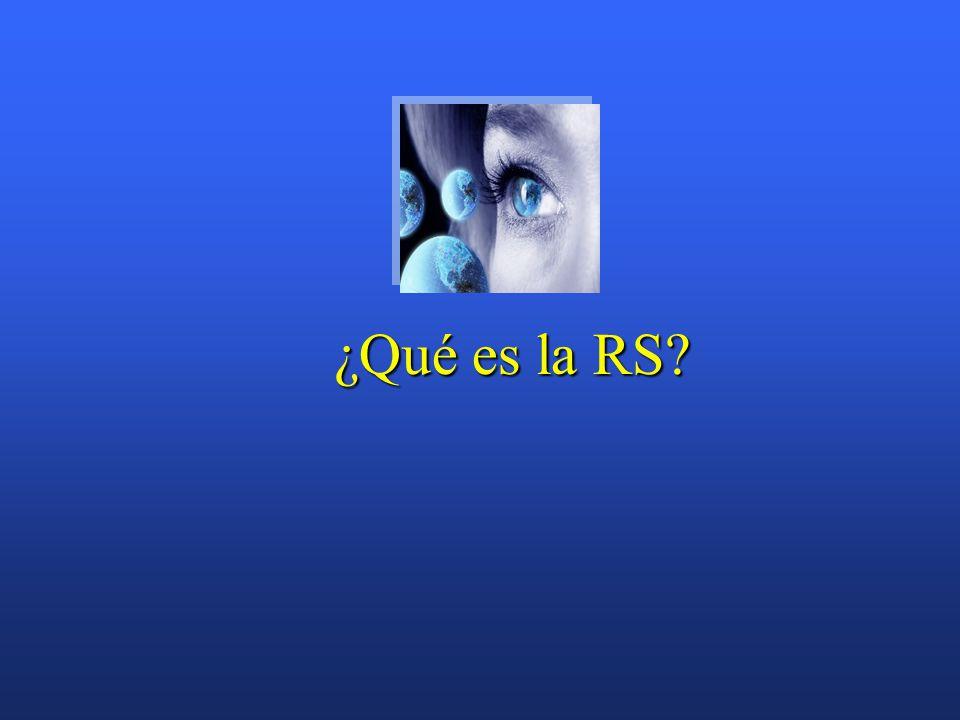 ¿Qué es la RS