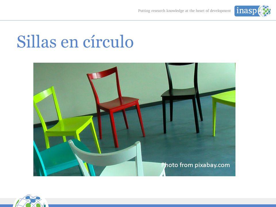 Sillas en círculo Photo from pixabay.com