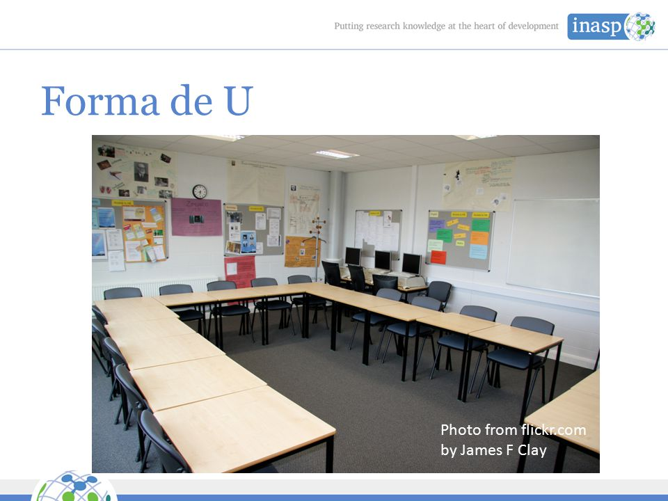 Forma de U Photo from flickr.com by James F Clay
