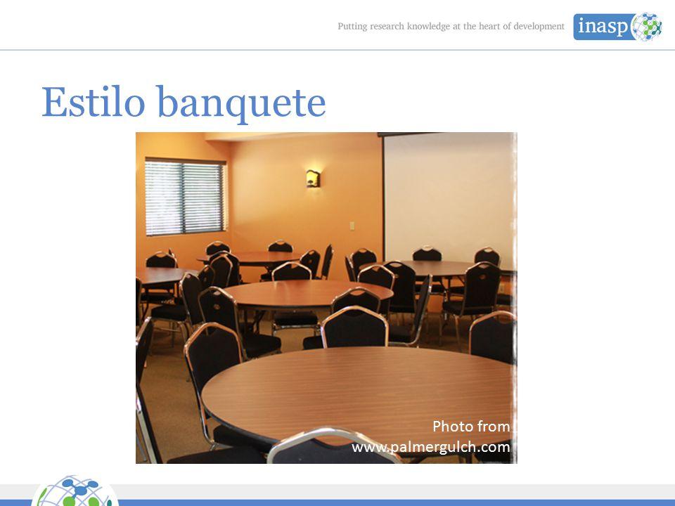 Estilo banquete Photo from www.palmergulch.com