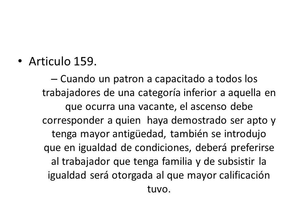 Articulo 159.