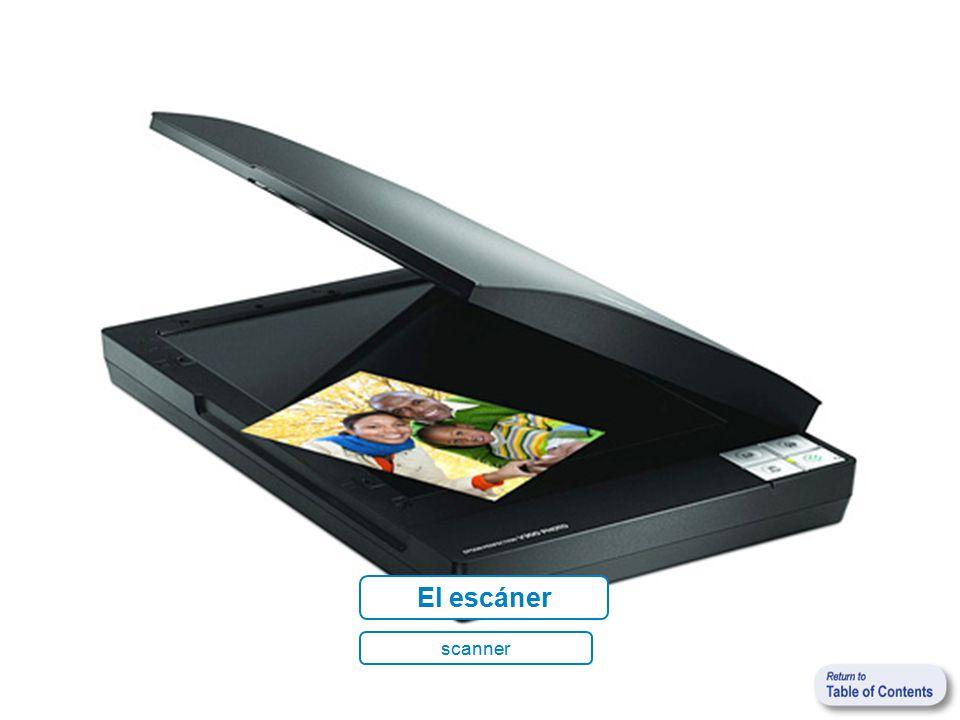 El escáner scanner