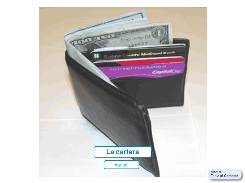 La cartera wallet