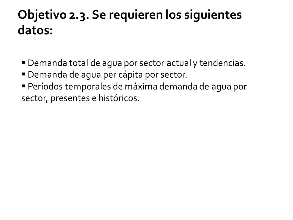 Objetivo 2.3.
