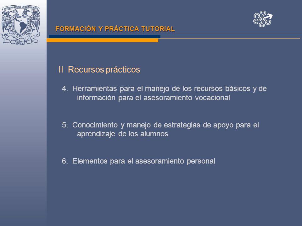 FORMACIÓN Y PRÁCTICA TUTORIAL 4.