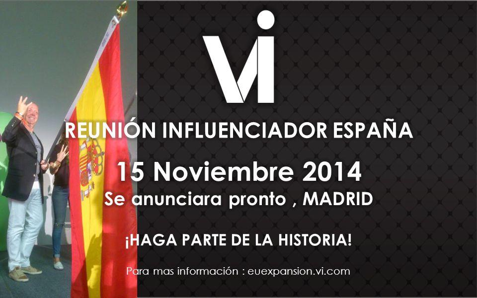 ¡HAGA PARTE DE LA HISTORIA! Para mas información : euexpansion.vi.com