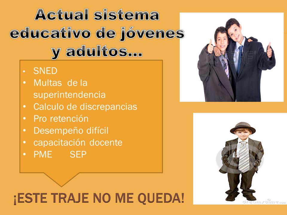 SNED Multas de la superintendencia Calculo de discrepancias Pro retención Desempeño difícil capacitación docente PME SEP