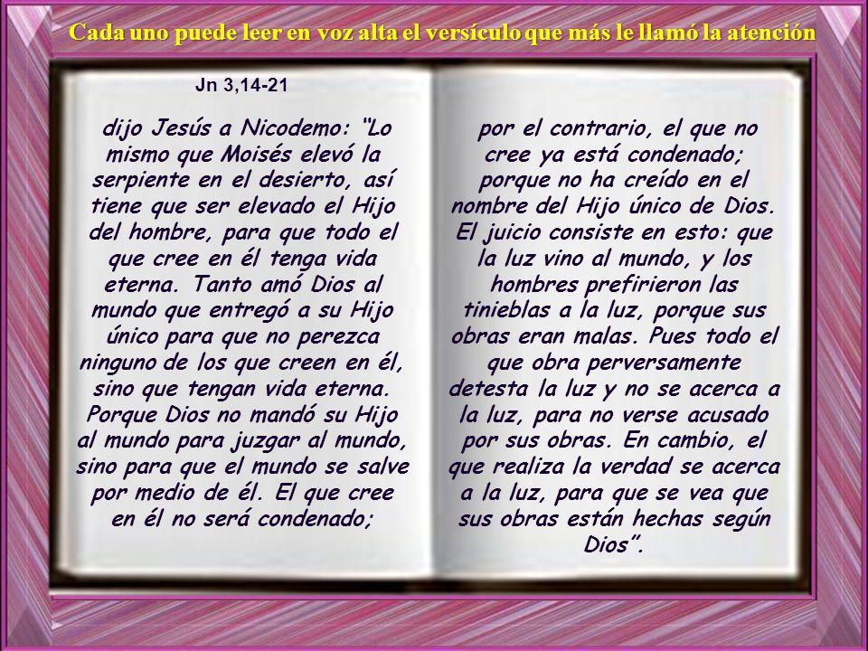 21 En cambio, el que realiza la verdad se acerca a la luz, para que se vea que sus obras están hechas según Dios .