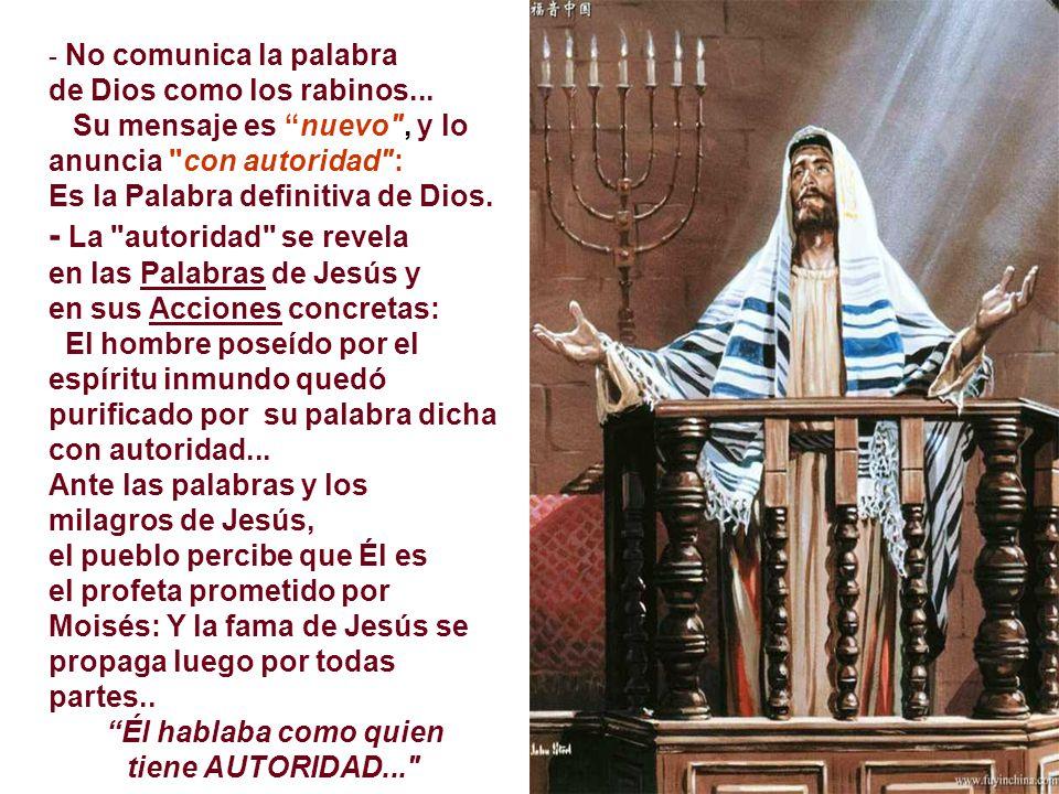 + El Evangelio revela que el Profeta esperado es Jesús.