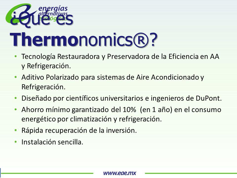 Tecnología Restauradora y Preservadora de la Eficiencia en AA y Refrigeración.