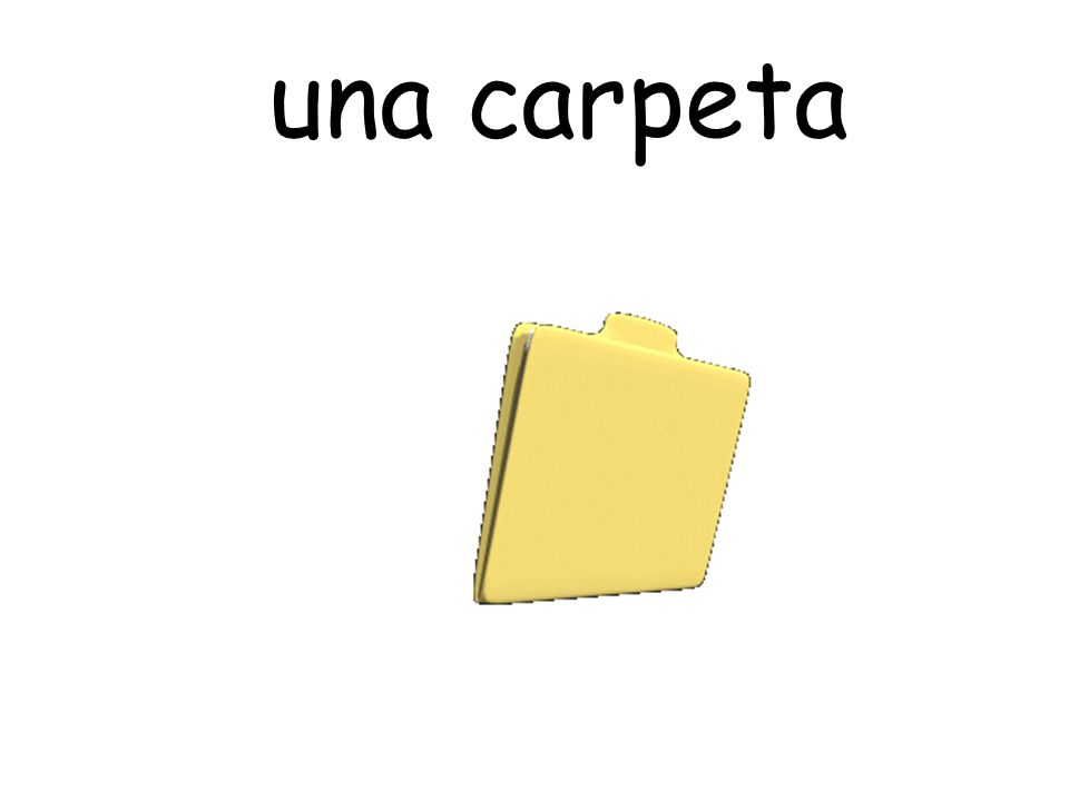 una carpeta