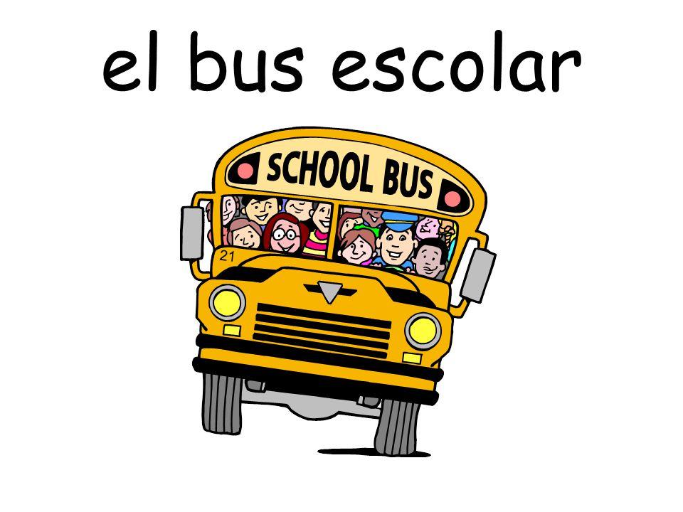 el bus escolar