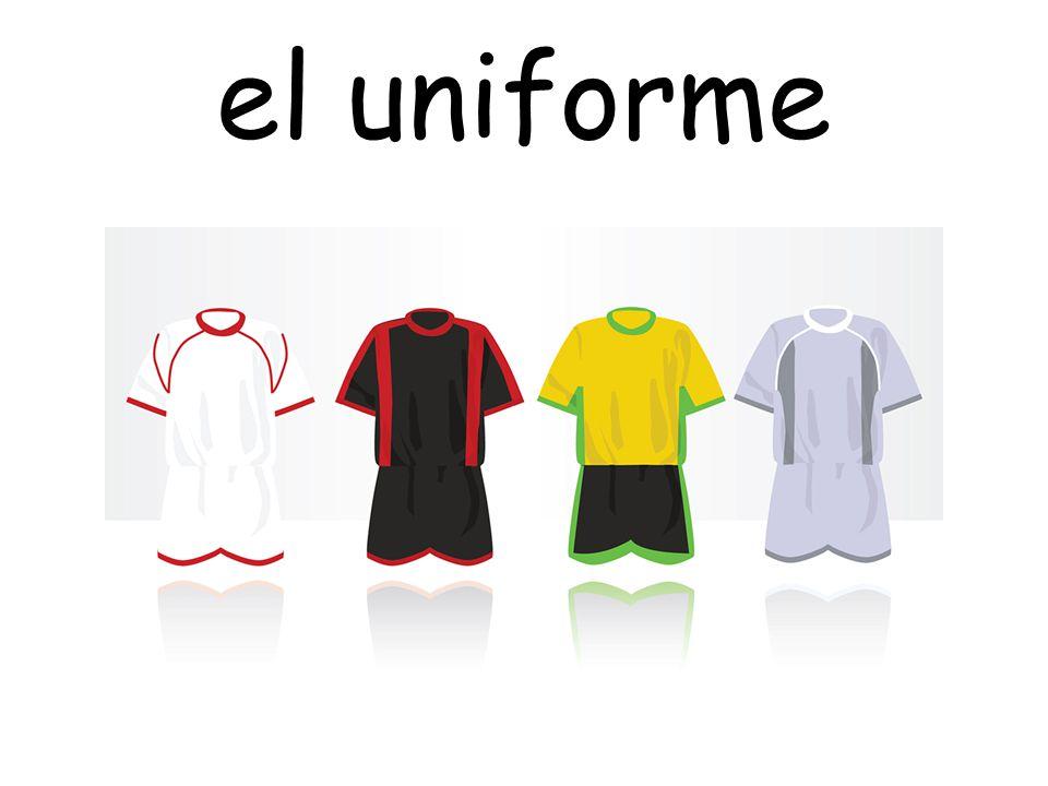 el uniforme