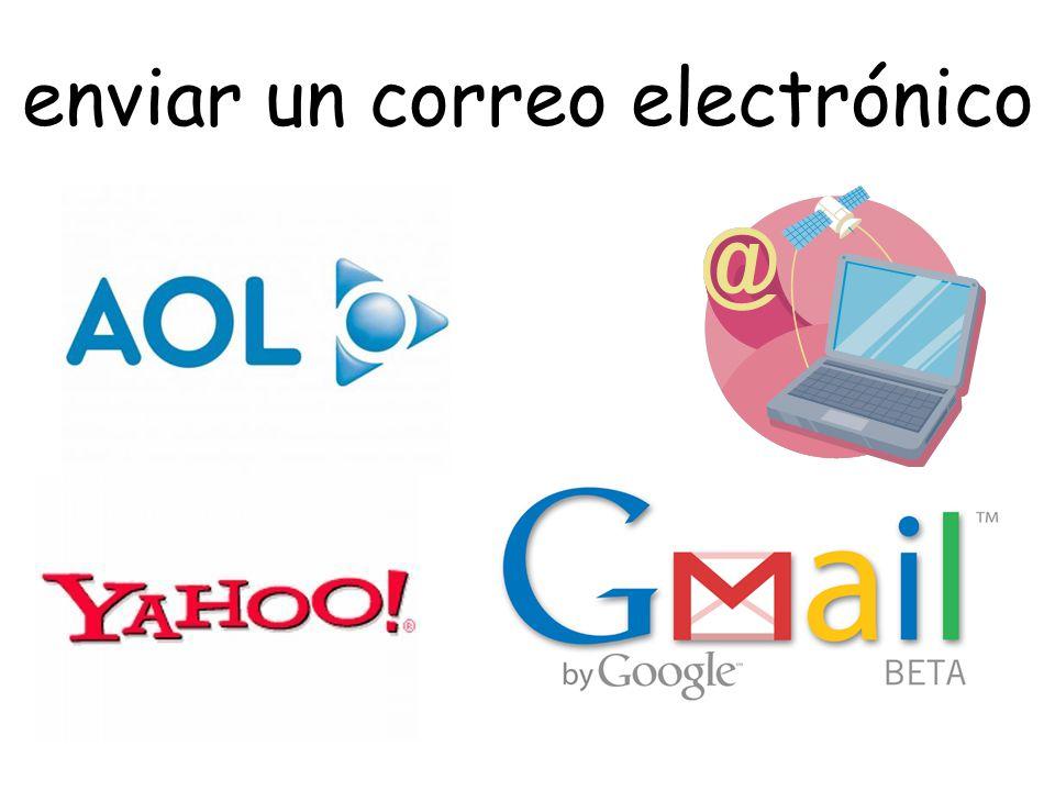 enviar un correo electrónico
