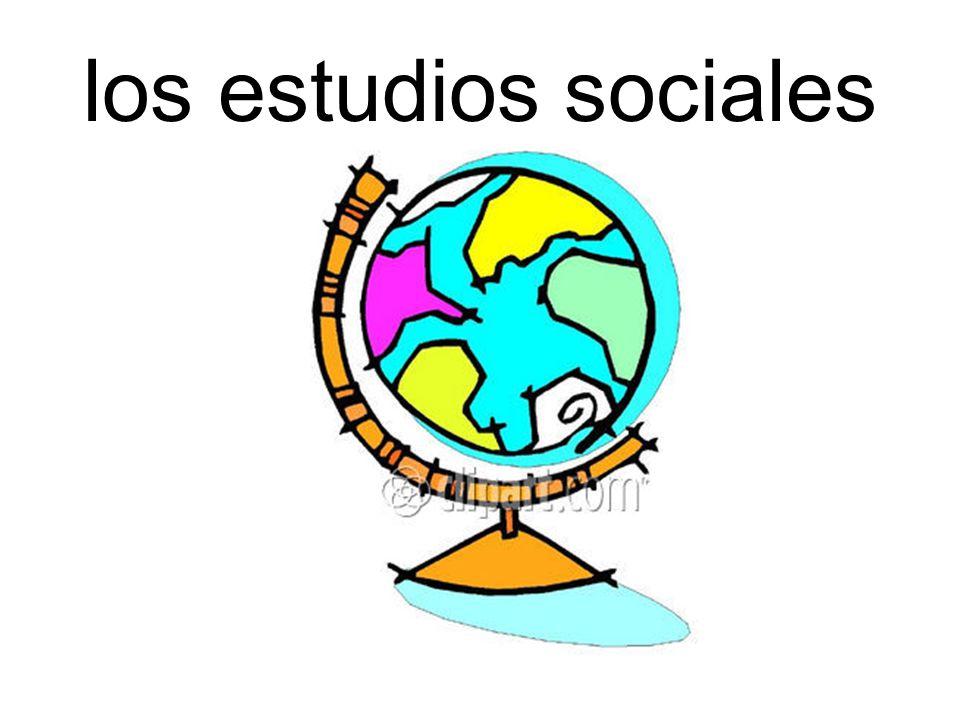 los estudios sociales
