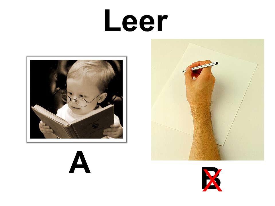 Leer A B X