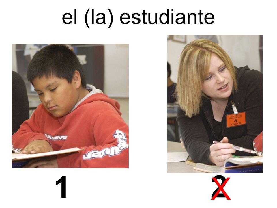 el (la) estudiante 1 2 X