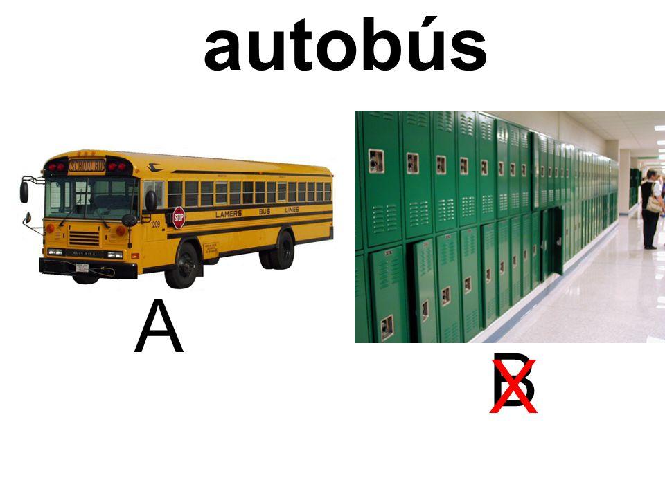 autobús A B X