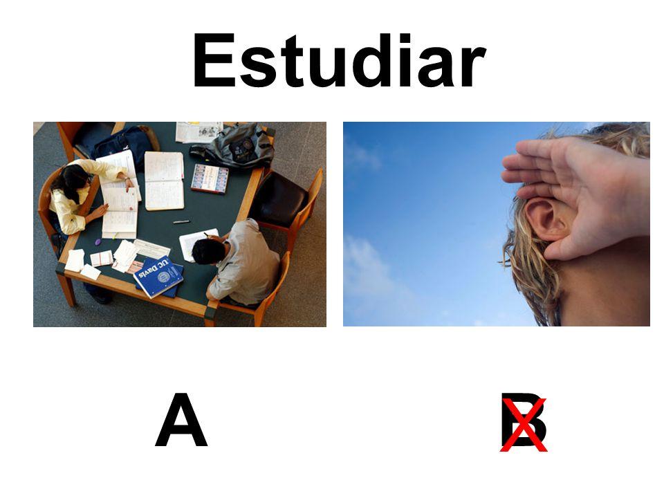 Estudiar AB X