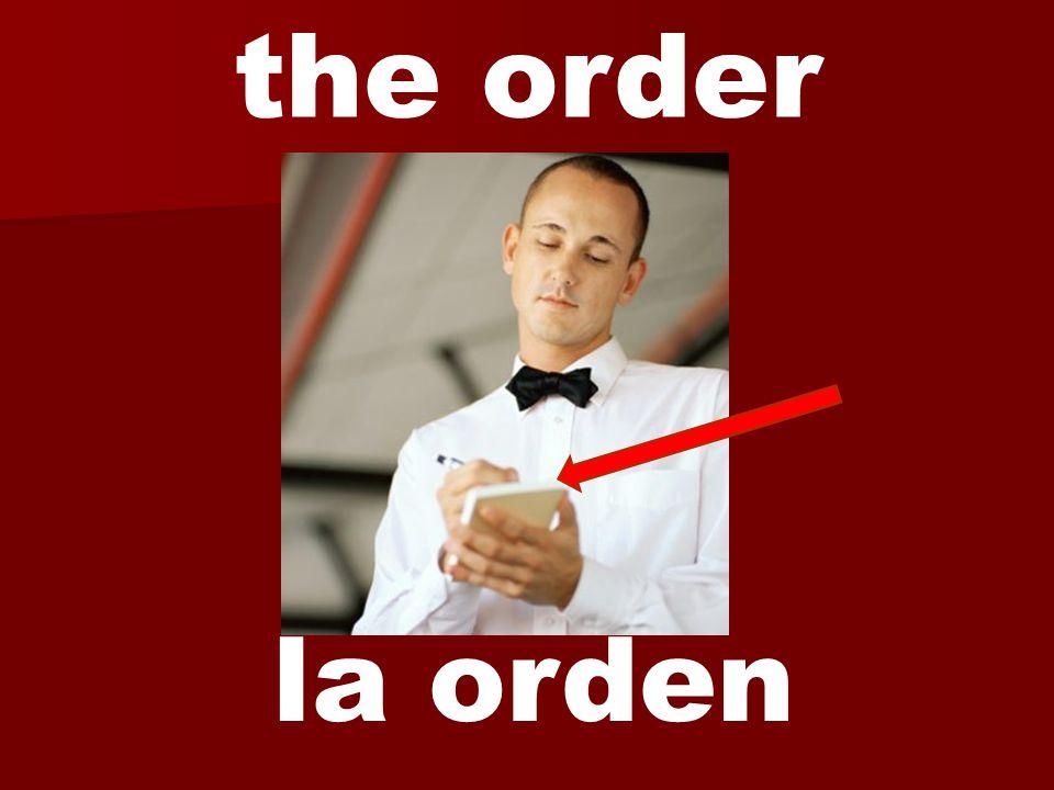 la orden the order