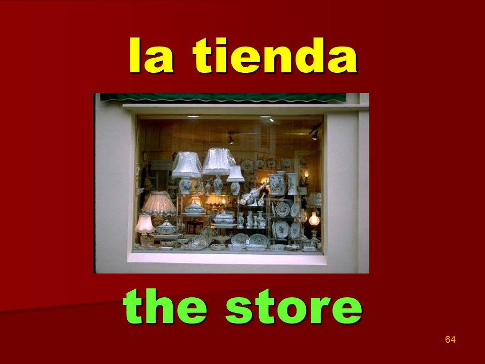 64 la tienda the store