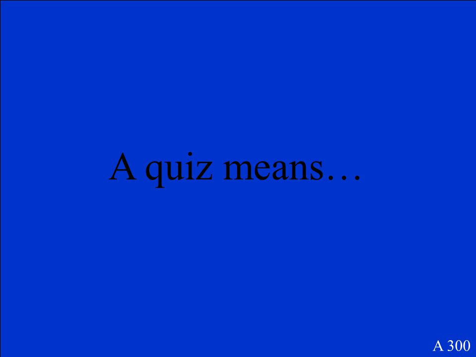 Un examen A 200