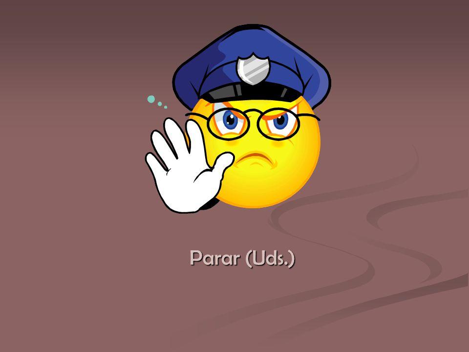 Parar (Uds.)