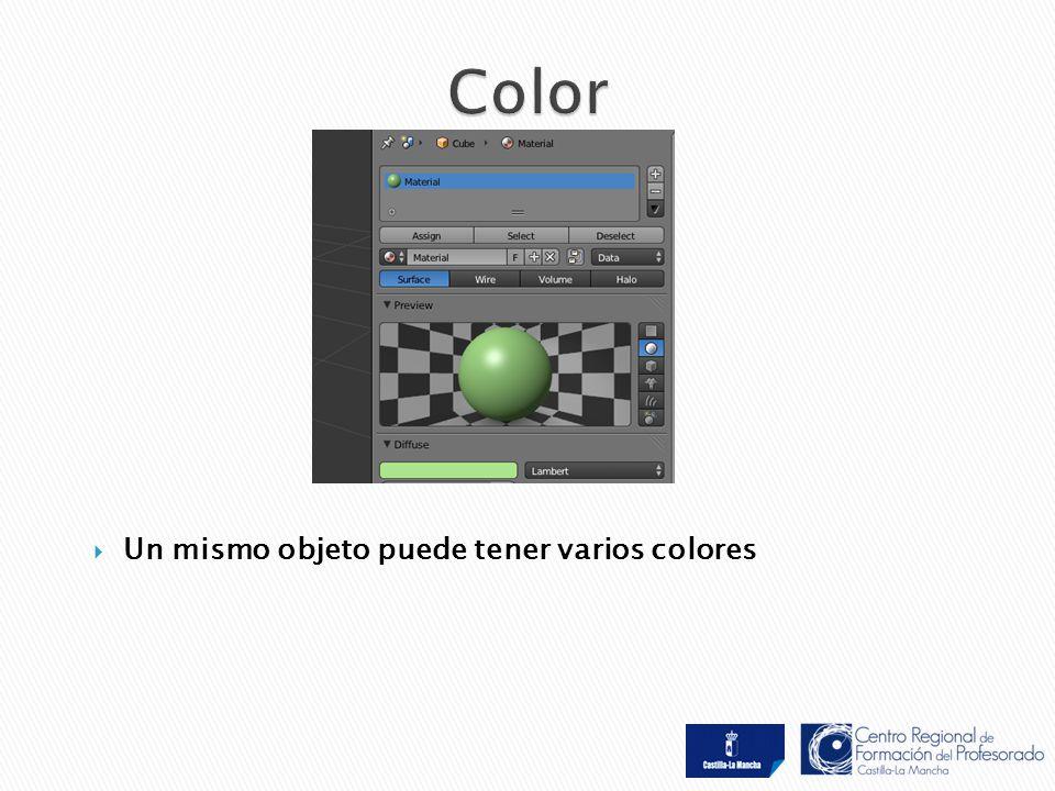  Un mismo objeto puede tener varios colores