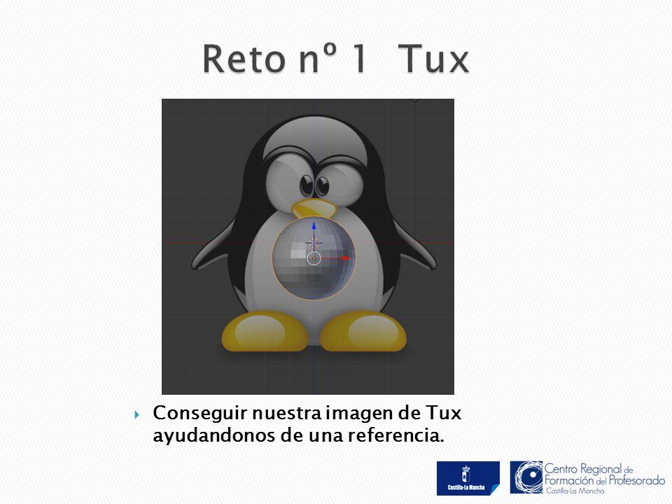  Conseguir nuestra imagen de Tux ayudandonos de una referencia.