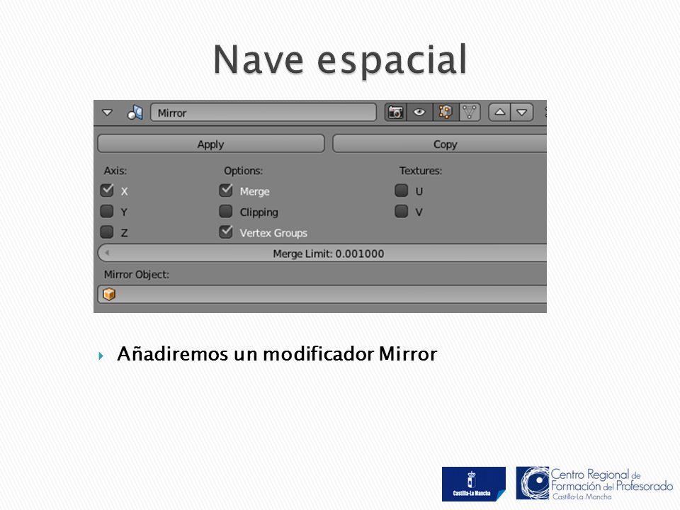  Añadiremos un modificador Mirror