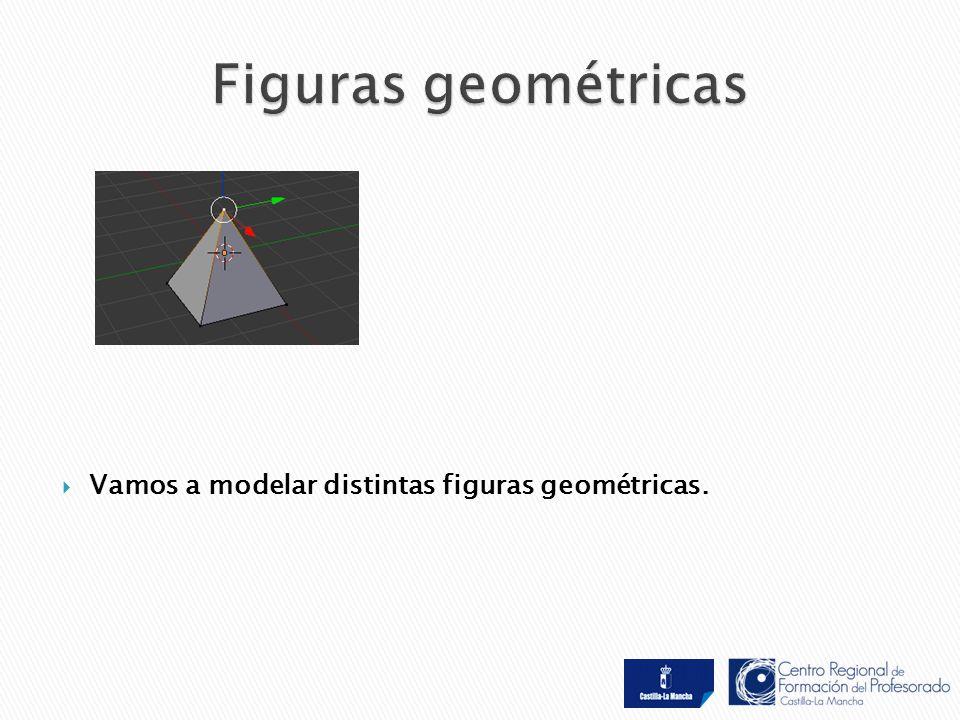  Vamos a modelar distintas figuras geométricas.