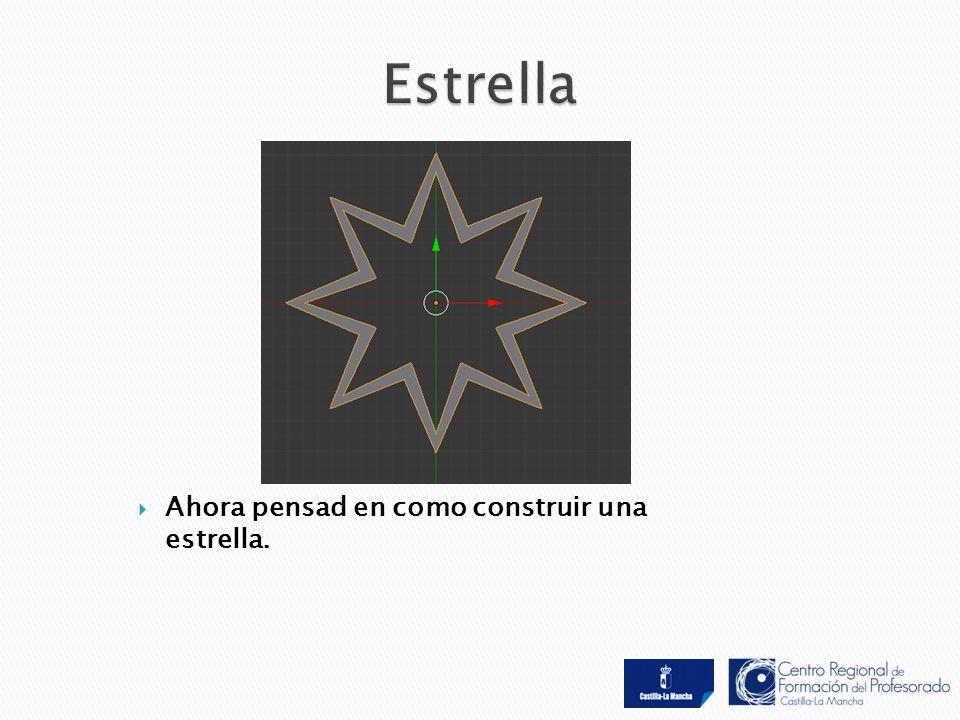  Ahora pensad en como construir una estrella.