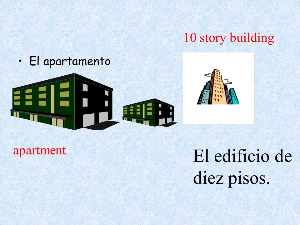 El apartamento El edificio de diez pisos. apartment 10 story building
