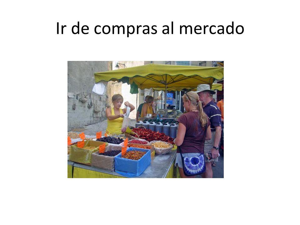 Ir de compras al mercado