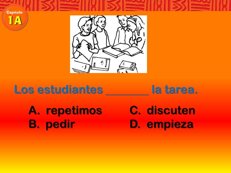 pedir Si no entiendes algo en la clase hay que pedir ayuda al profesor.