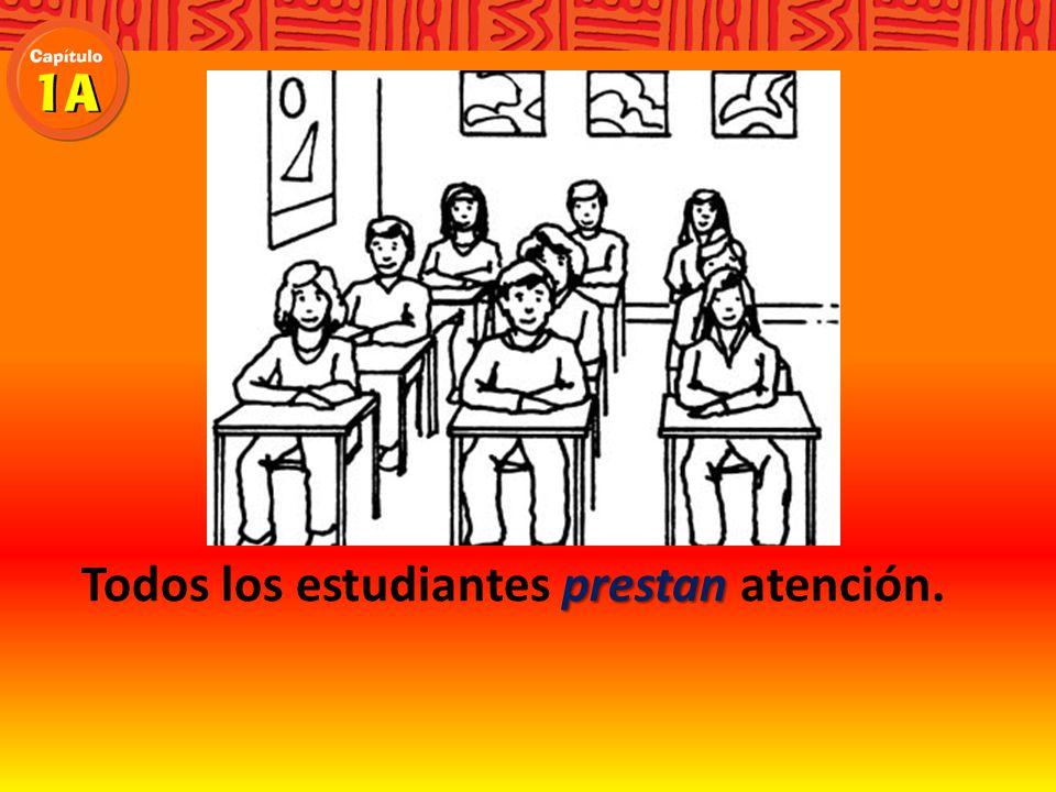Todos los estudiantes atención.