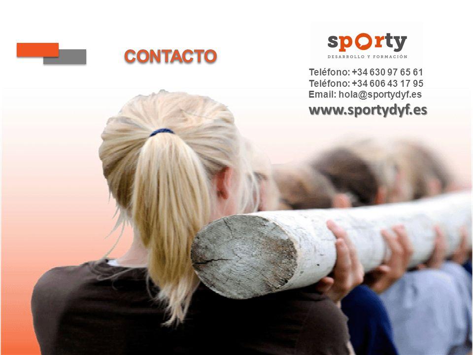 Teléfono: +34 630 97 65 61 Teléfono: +34 606 43 17 95 Email: hola@sportydyf.eswww.sportydyf.es
