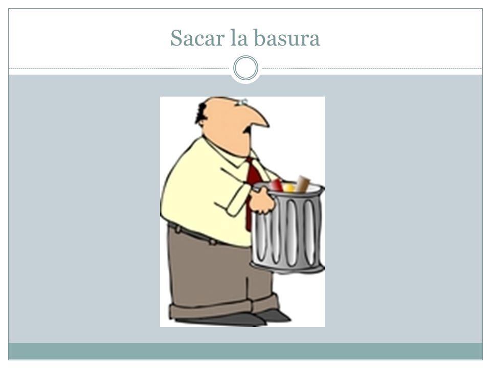 Sacar el reciclaje
