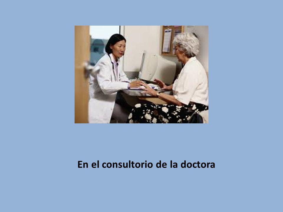 En el consultorio de la doctora