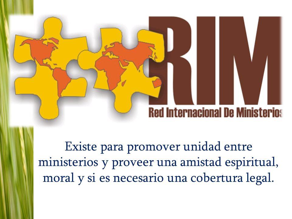 Existe para promover unidad entre ministerios y proveer una amistad espiritual, moral y si es necesario una cobertura legal.