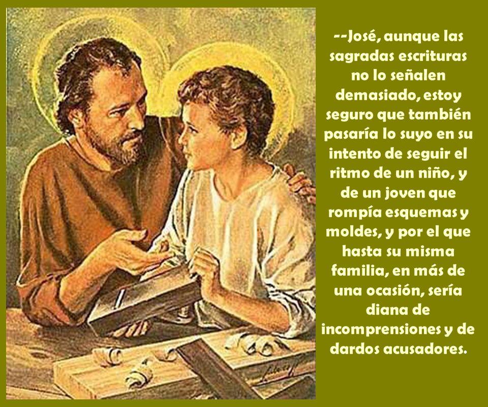 --Sólo desde la docilidad, fiándonos de Dios, podremos sacar conclusiones bien prácticas para nuestra vida cristiana y siguiendo de cerca los pasos de Jesús.