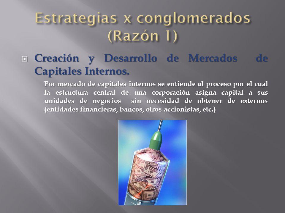  Creación y Desarrollo de Mercados de Capitales Internos.